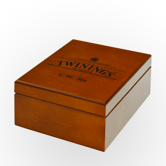 Twinings 4-Comp Wooden Box