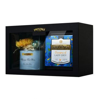Twinings Platinum & Preserved Flowers Gift Set – Orangery of Lady Grey