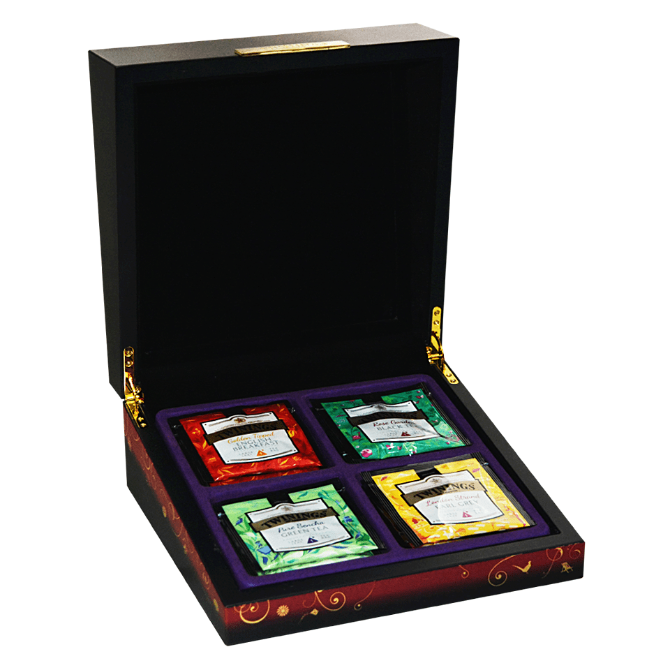 Special Platinum: Twinings Platinum Series Limited Edition Wooden Box Set